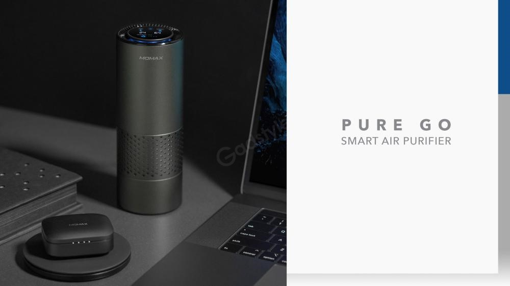 Momax Pure Go Portable Smart Air Purifier (5)