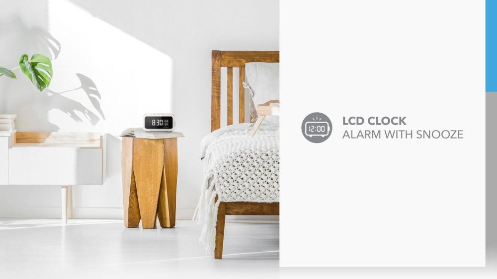 Momax Q Clock 2 Digital Clock With Wireless Charger (6)