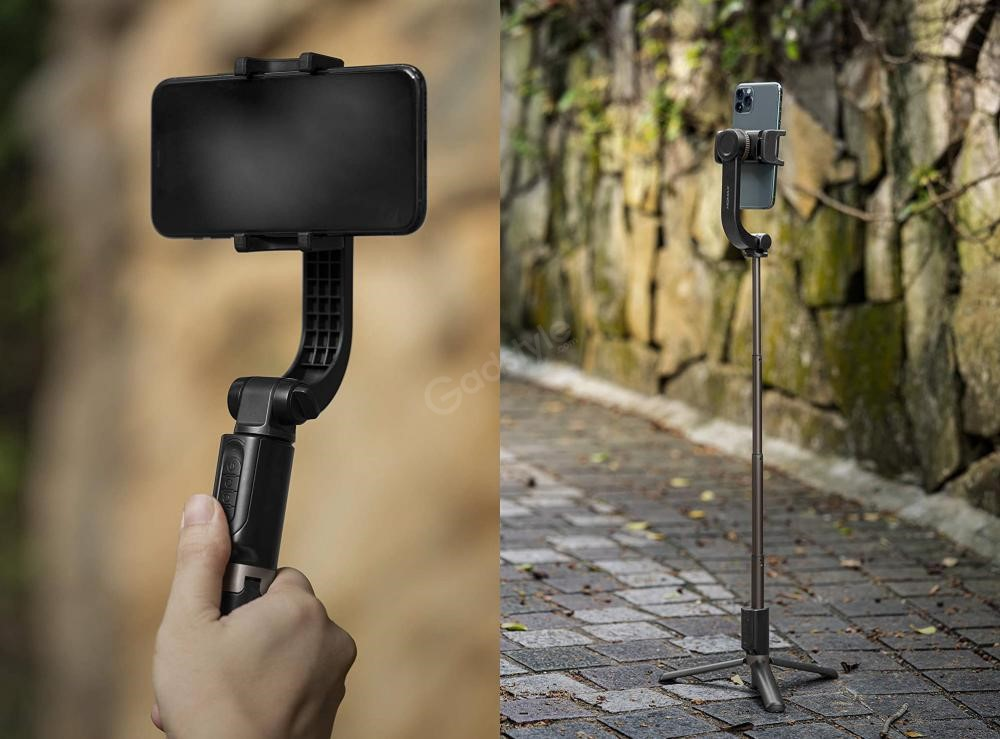 Momax Selfie Stable 2 Smartphone Gimbal With Tripod (2)