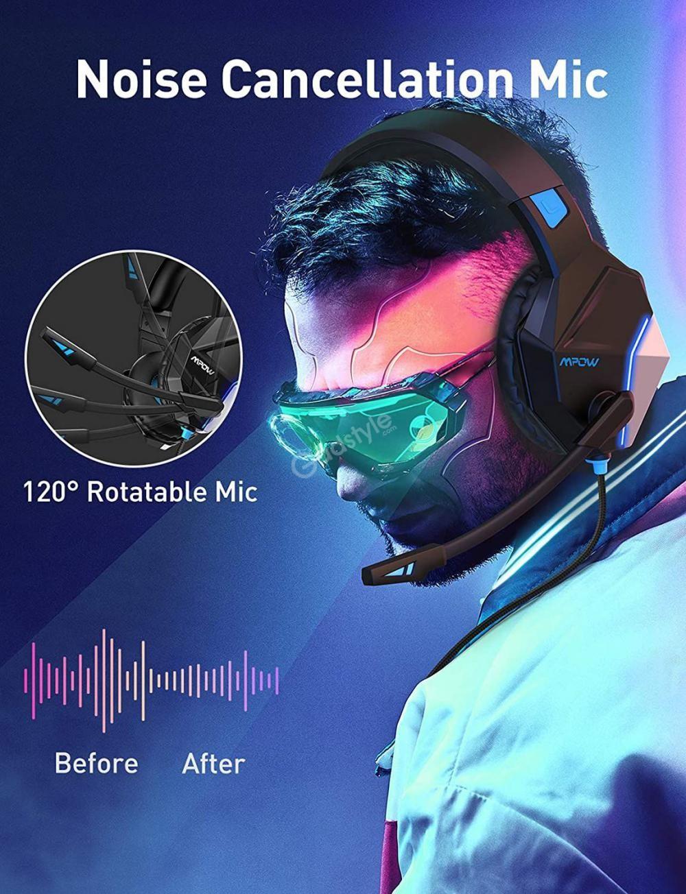 Mpow Eg10 Gaming Headset 3d Surround Sound (1)