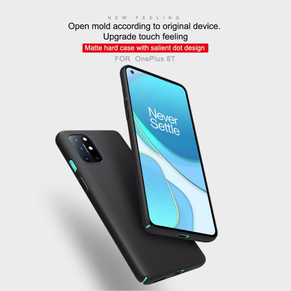 Nillkin Super Frosted Shield Matte Cover Case For Oneplus 8t (5)