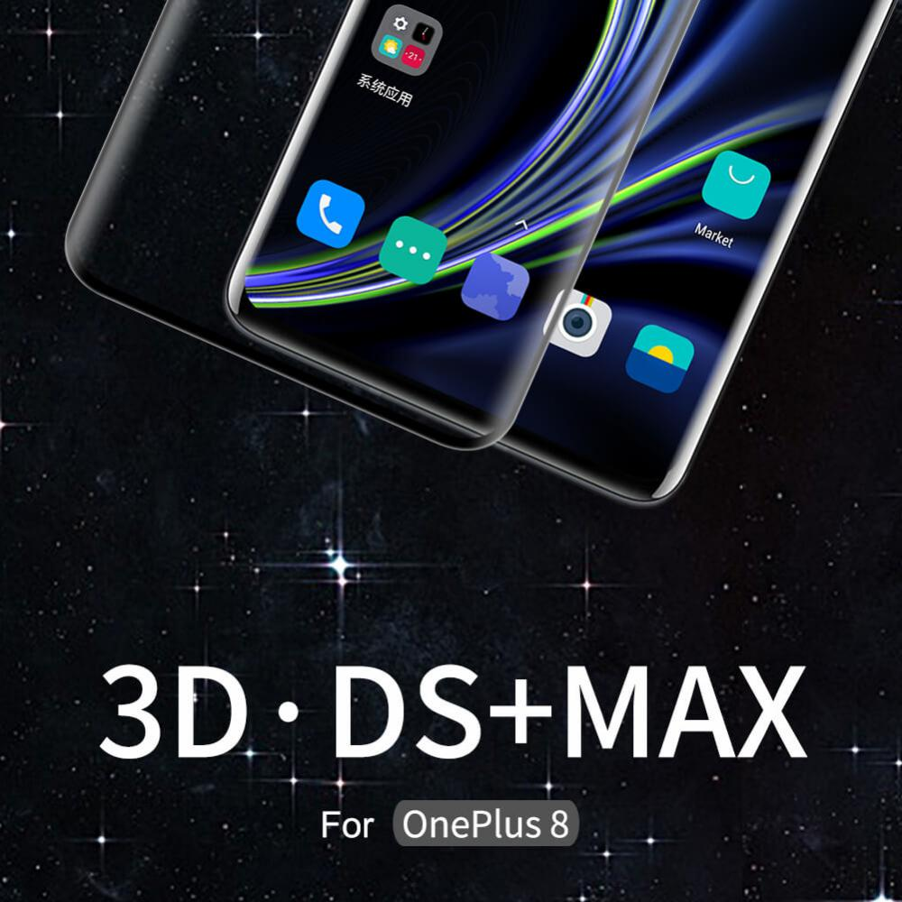 Oneplus 8 Nillkin Amazing 3d Ds Max Tempered Glass Protector (2)