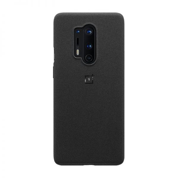 Oneplus 8 Pro Sandstone Bumper Case Black (2)