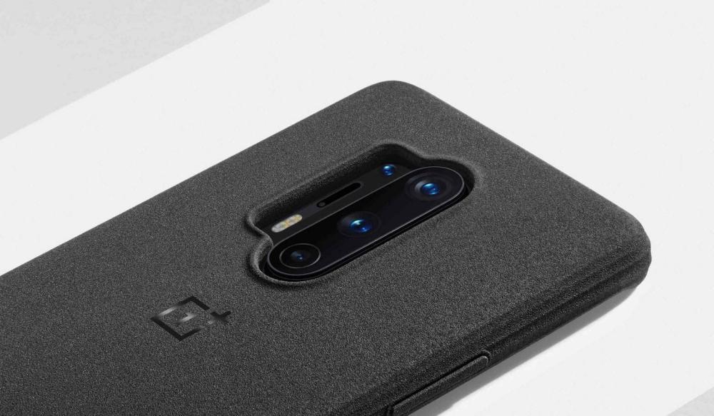Oneplus 8 Pro Sandstone Bumper Case Black (3)