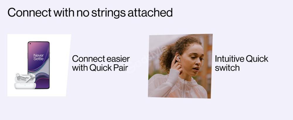 Oneplus Buds Z True Wireless Earbuds White (4)