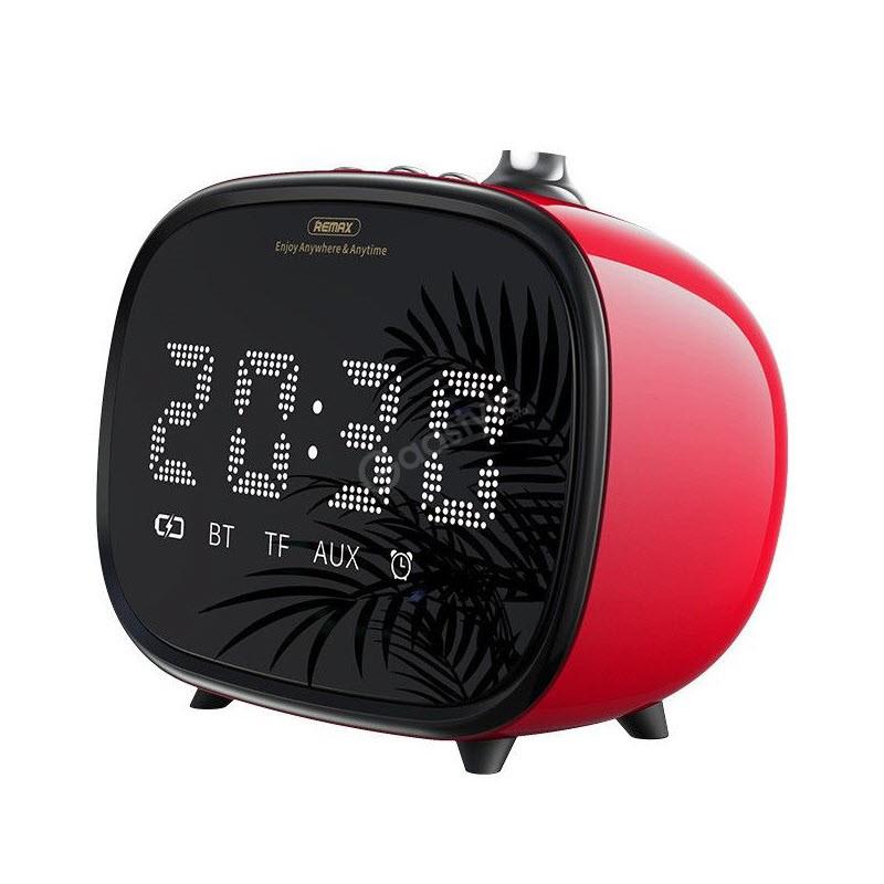 Remax M52 2 In 1 Led Clock Bluetooth Wireless Speaker (4)