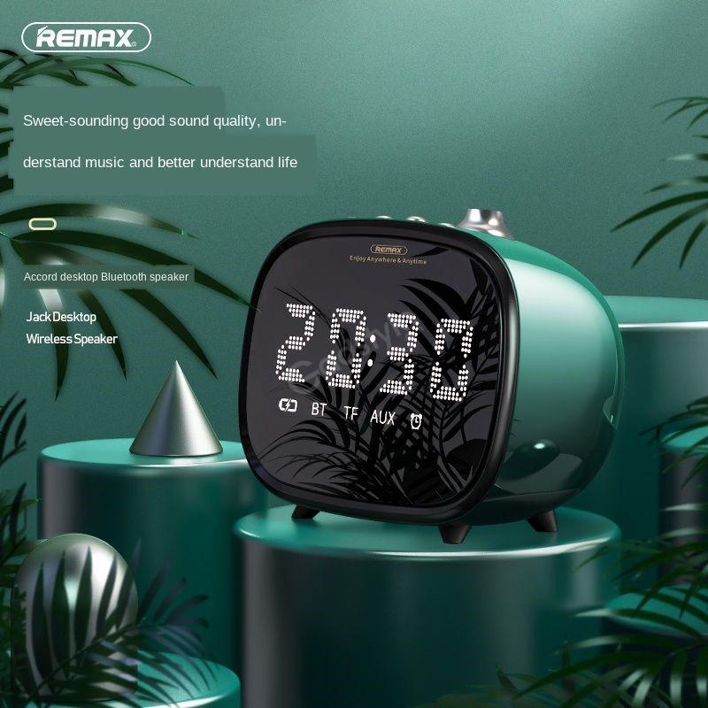 Remax M52 2 In 1 Led Clock Bluetooth Wireless Speaker (6)