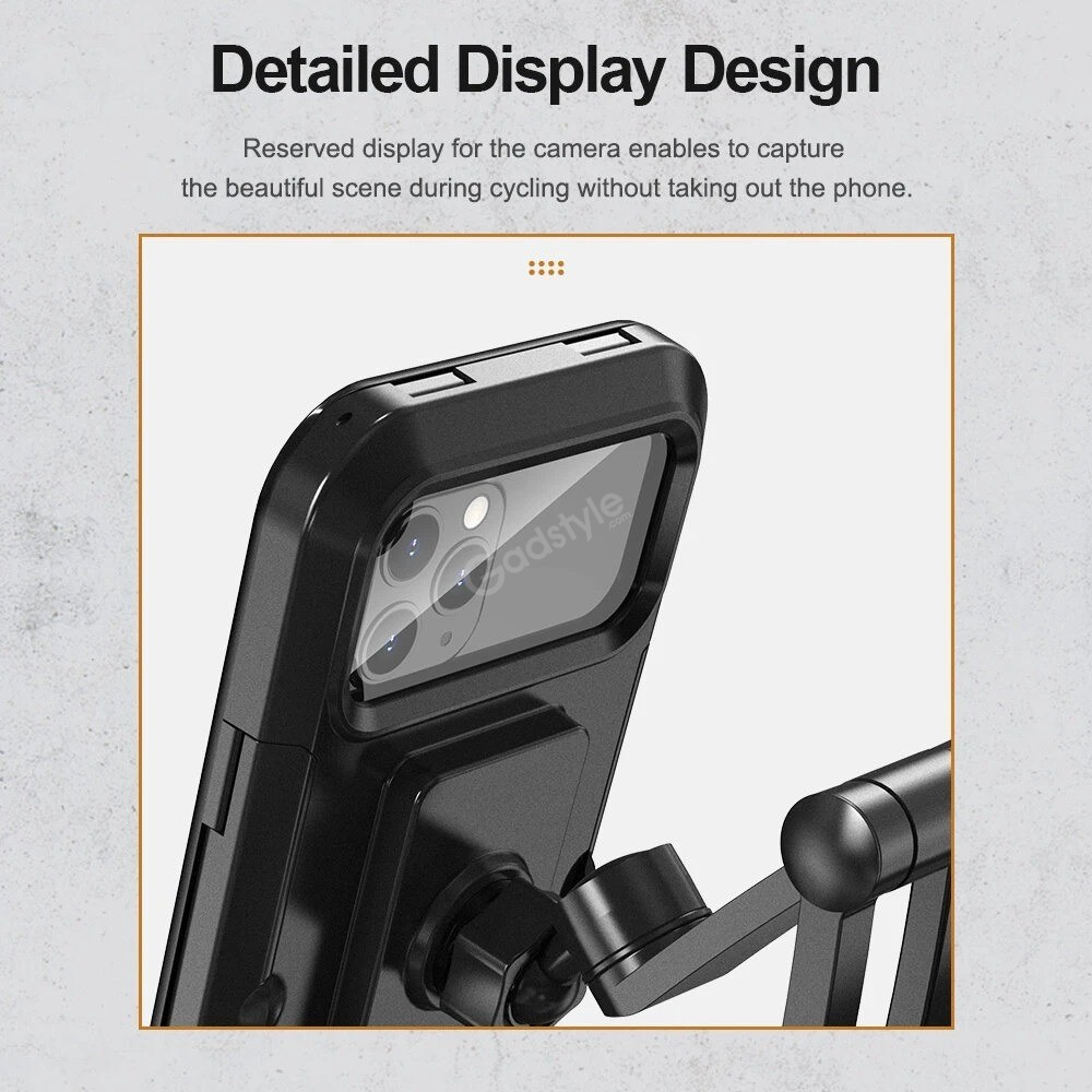 Rock Universal Retractable Bike Phone Mount (4)