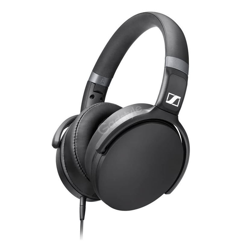 Sennheiser Hd 4 30g Black Around Ear Headphones (3)