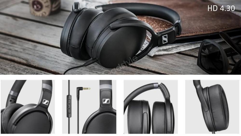 Sennheiser Hd 4 30g Black Around Ear Headphones (4)
