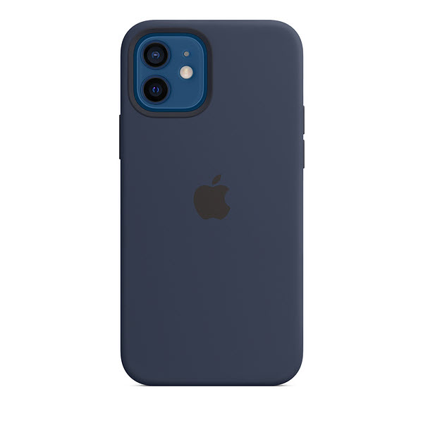 Silicone Case With Magsafe For Iphone 12 Pro Pro Max And Mini