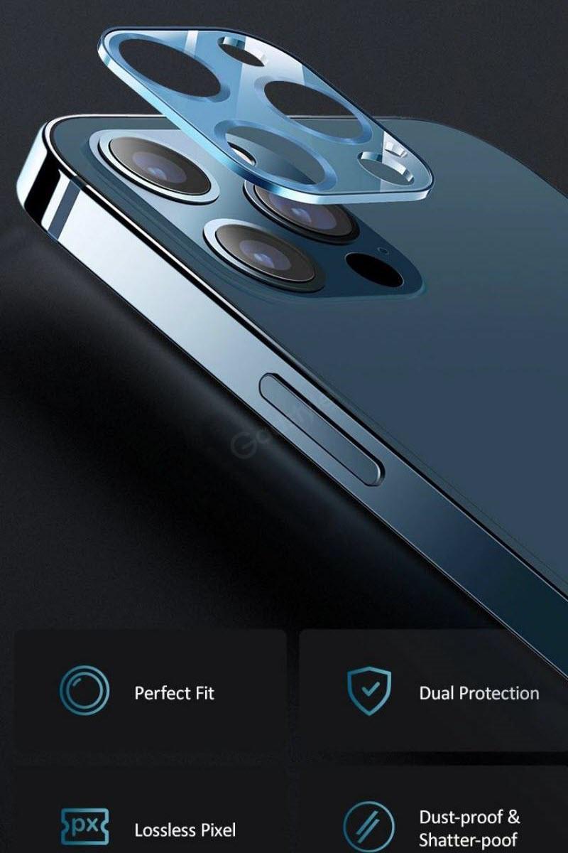 Usams Us Bh703 Metal Camera Lens Glass Film For Iphone 12 (5)
