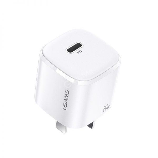 Usams Us Cc123 T36 20w Single Port Mini Fast Charger (3)