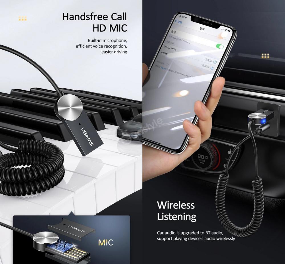 Usams Us Sj464 Car Wireless Audio Receiver (1)