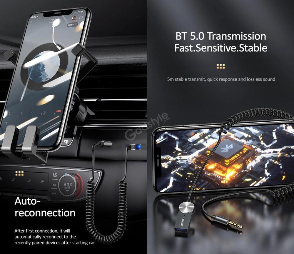 Usams Us Sj464 Car Wireless Audio Receiver (4)