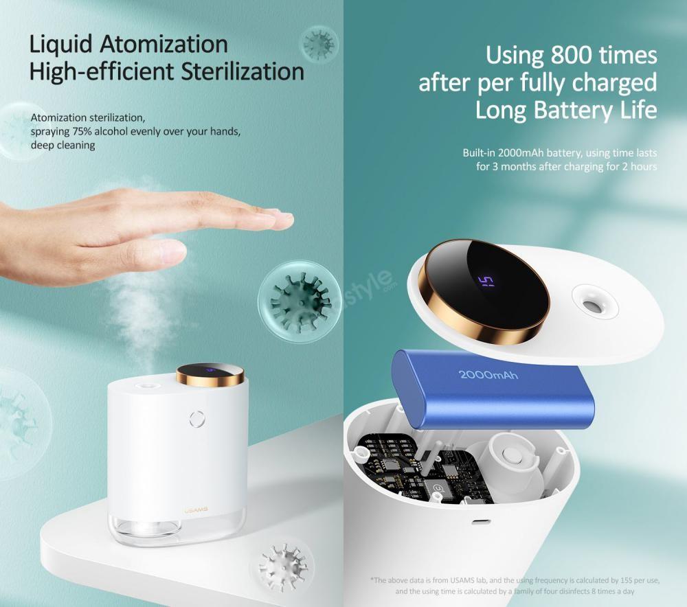 Usams Us Zb174 Digital Display Auto Disinfection Sprayer (1)