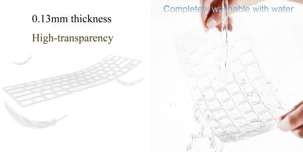 Wiwu Us Layout Laptop Keyboard Cover For Apple Macbook (3)