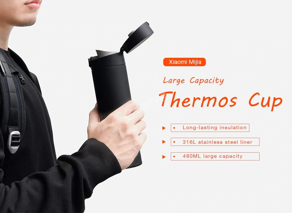 Xiaomi Insulated Vacuum Thermos Bottle 480ml (3)