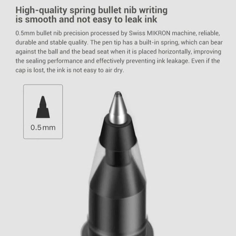 Xiaomi Mi Jumbo Gel Ink Pen 10 Pieces (5)