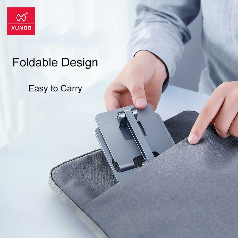 Xundd Folding Metal Holder For Mobile Phone Tablet (1)