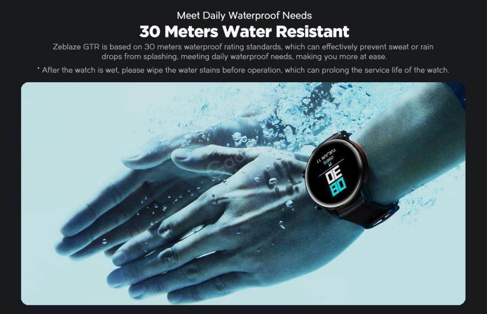 Zeblaze Gtr Curved Screen Smart Watch (2)