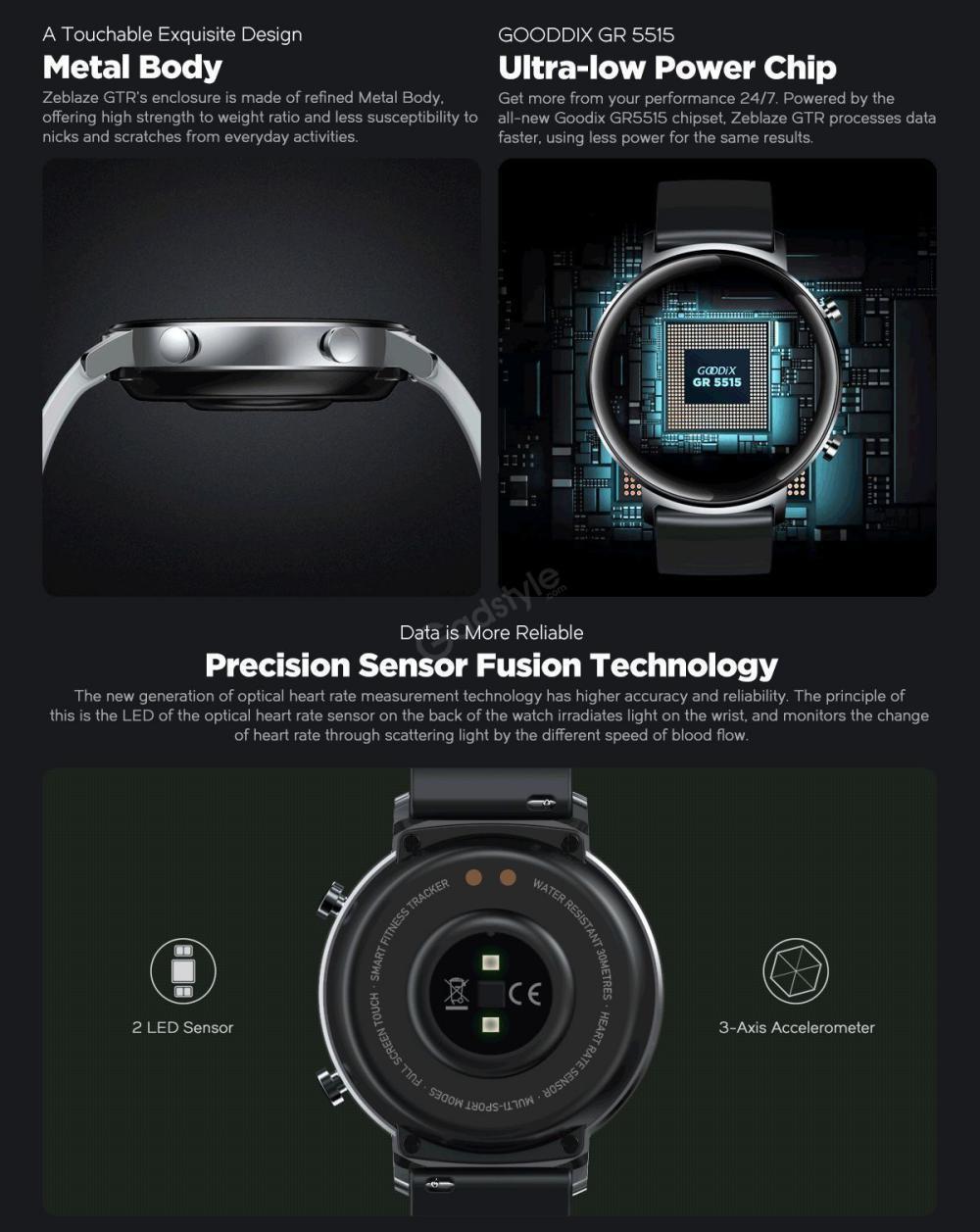 Zeblaze Gtr Curved Screen Smart Watch (6)
