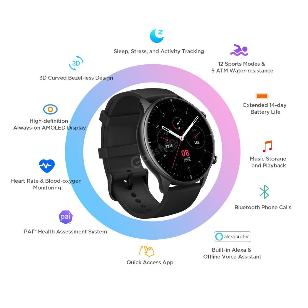 Amazfit Gtr 2 Smartwatch With 14 Day Battery Life (7)