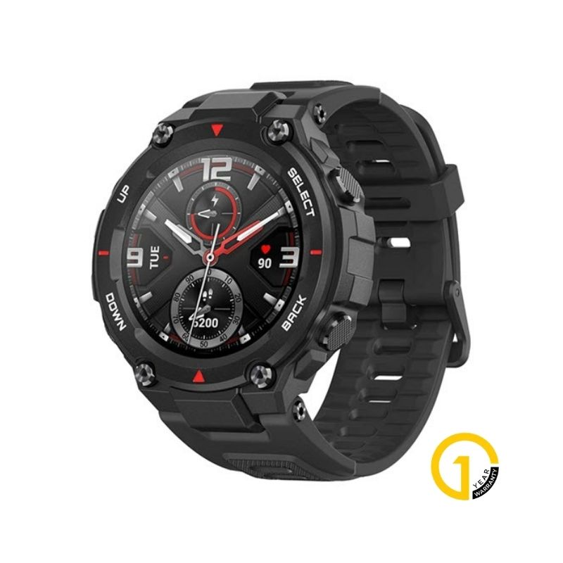 Amazfit T Rex Dual Gps Smartwatch With Military Grade Certifications