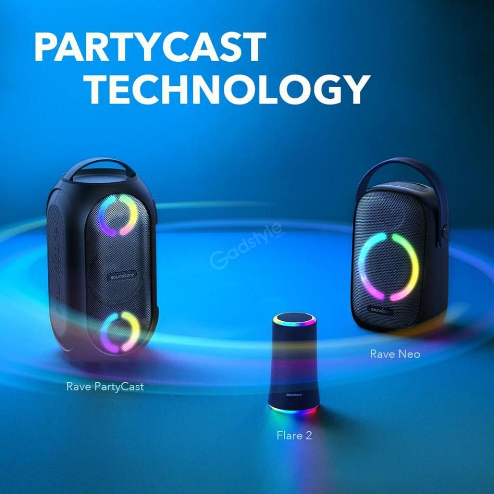 Anker Soundcore Rave Neo Portable Bluetooth Party Speaker 50w (4)