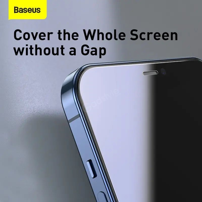 Baseus 2pcs 0 3mm Crystal Clear Screen Protector For Iphone 12 Series (5)