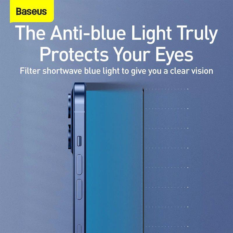 Baseus 2pcs 0 3mm Full Screen Full Glass Tempered Glass Film (3)