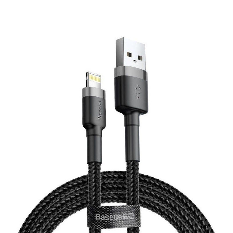 Baseus Cafule Braided Cable Usb For Apple Lightning (3)