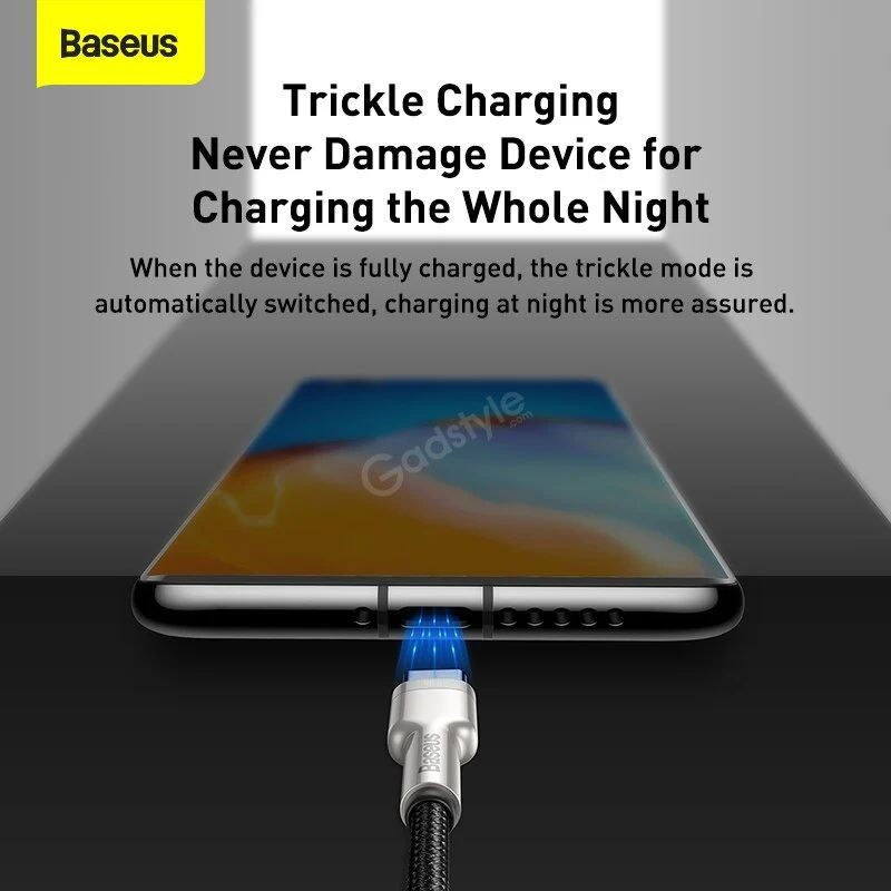 Baseus Cafule Series Metal Data Cable Usb To Type C 40w (2)