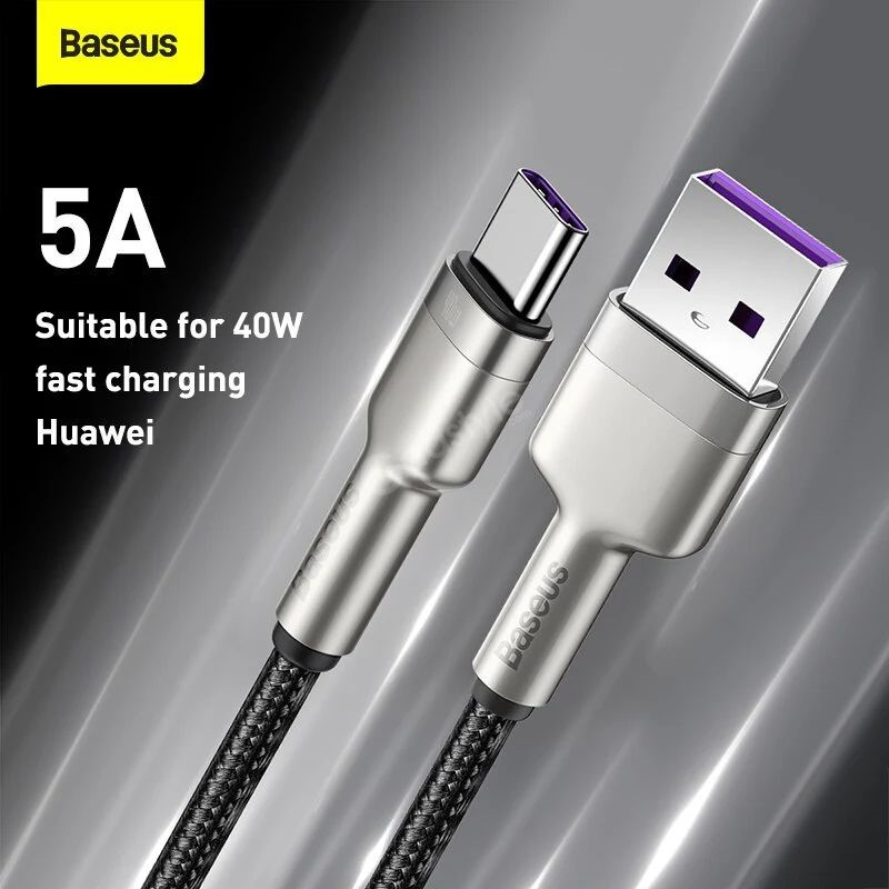 Baseus Cafule Series Metal Data Cable Usb To Type C 40w (4)
