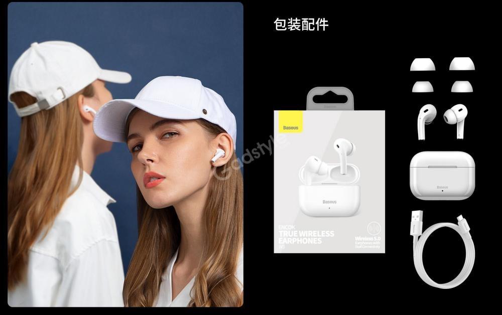 Baseus Encok W3 True Wireless Earphones (1)