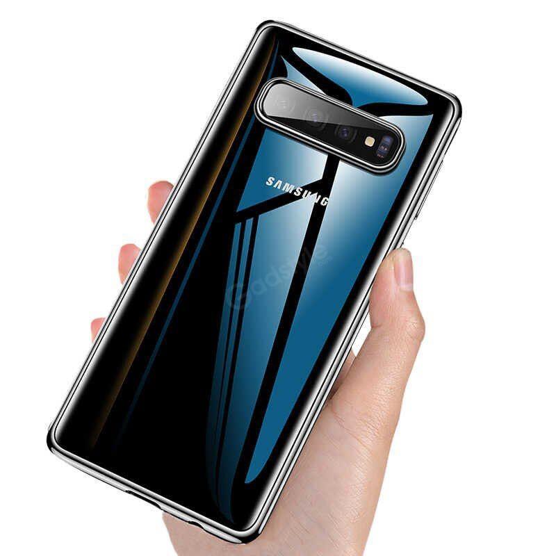 Baseus Soft Clear Case Ultra Slim Transparent For Galaxy S10 S10 Plus (1)
