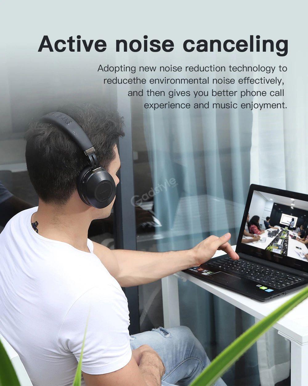Bluedio H2 Anc Bluetooth 5 0 Headphone Wireless Headset (3)