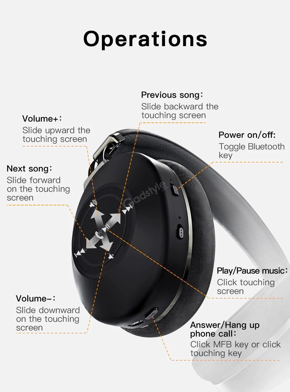 Bluedio H2 Anc Bluetooth 5 0 Headphone Wireless Headset (5)