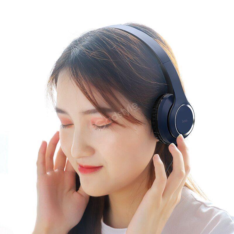 Hoco W28 Wireless Portable Headphones (2)