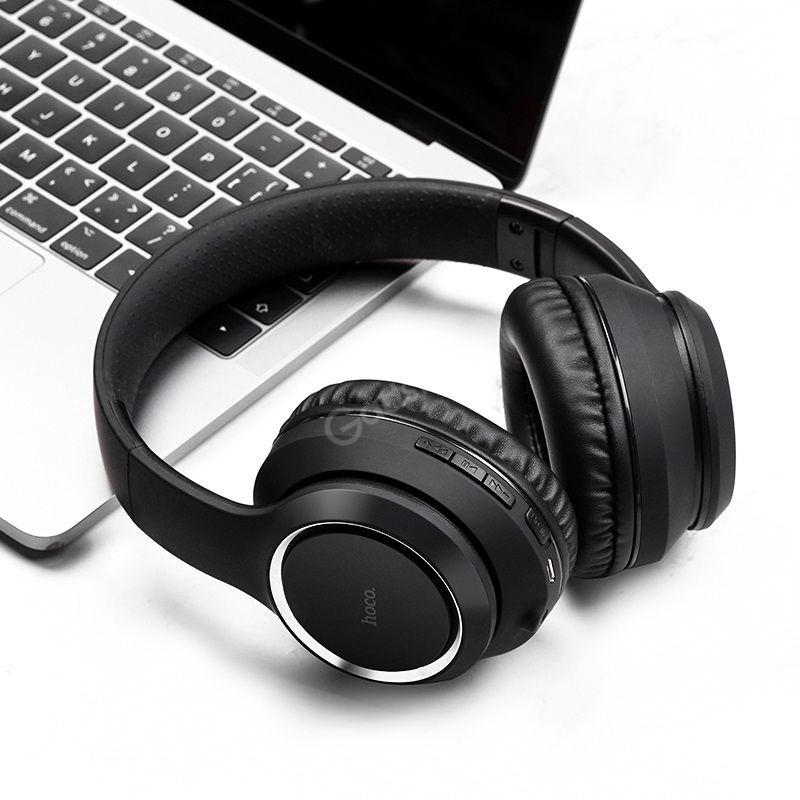 Hoco W28 Wireless Portable Headphones (3)