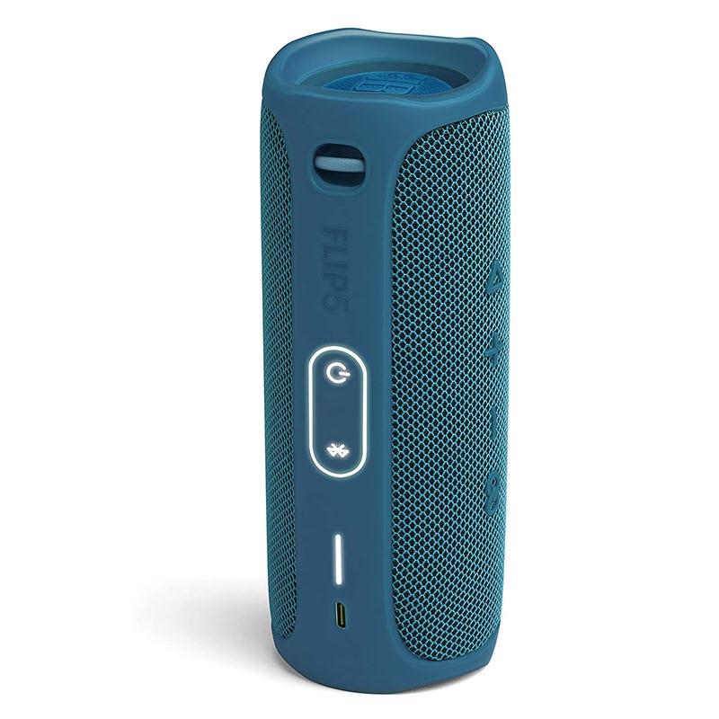 Jbl Flip 5 Waterproof Portable Bluetooth Speaker Blue (2)