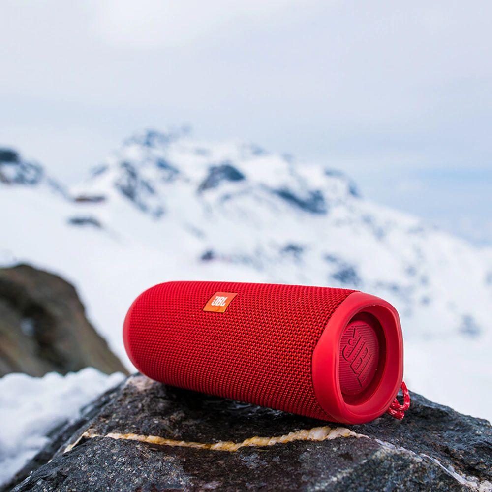 Jbl Flip 5 Waterproof Portable Bluetooth Speaker Red (1)