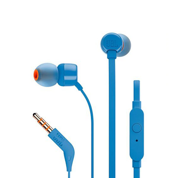 Jbl Tune 110 In Ear Headphones Blue