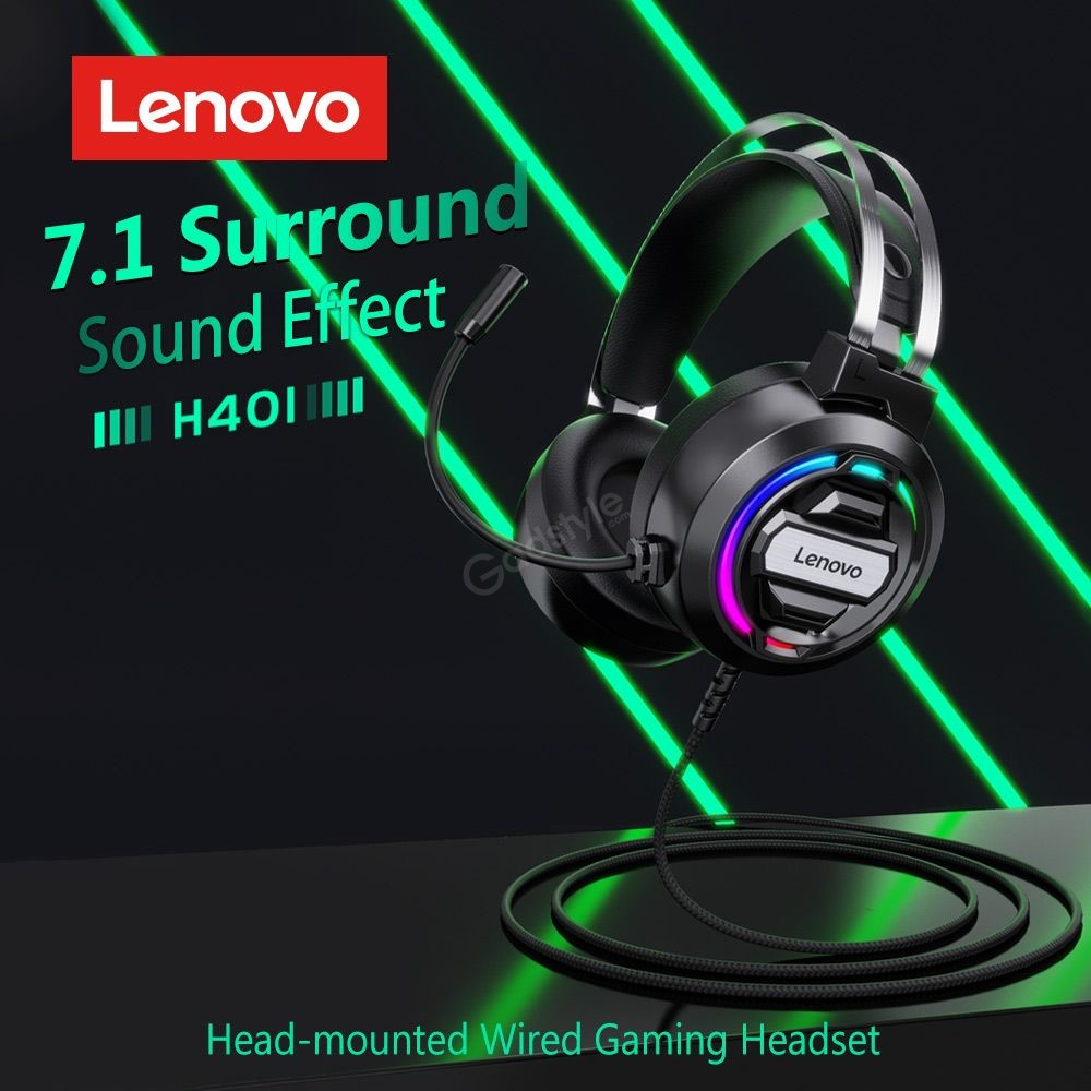 Lenovo H401 Wired Gaming Headset (4)