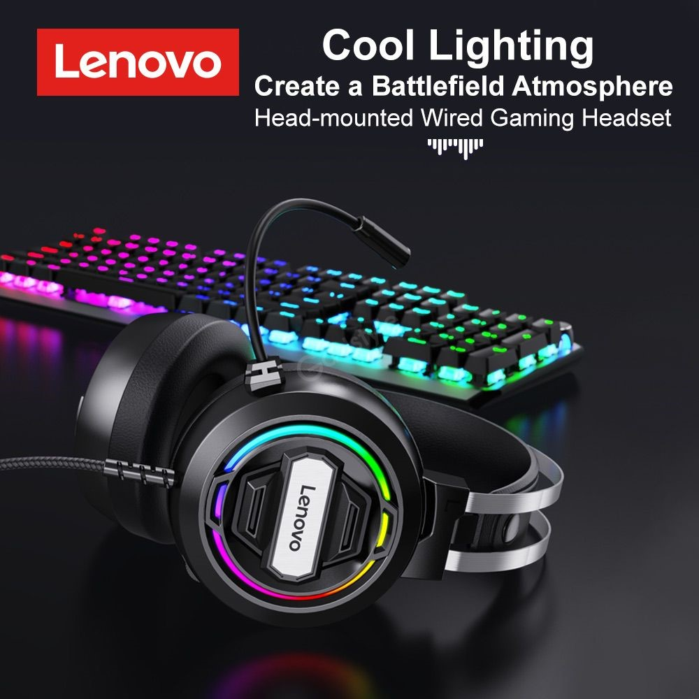 Lenovo H401 Wired Gaming Headset (5)