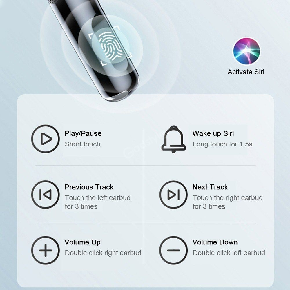 Lenovo Lp40 Tws Wireless Bluetooth Earbuds (2)