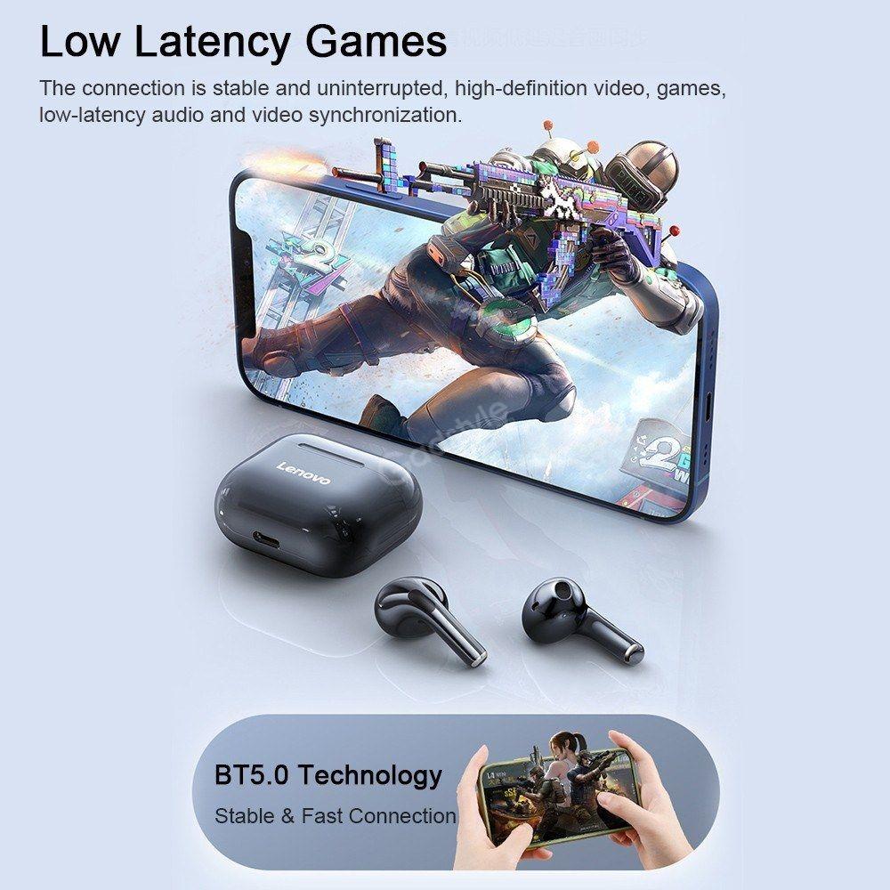 Lenovo Lp40 Tws Wireless Bluetooth Earbuds (6)