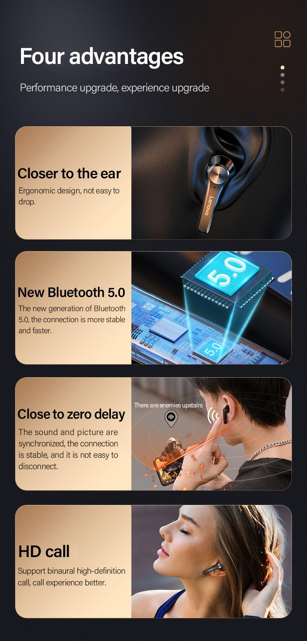 Lenovo Qt81 Tws Bluetooth 5 0 Earphone With Led Power Display (2)