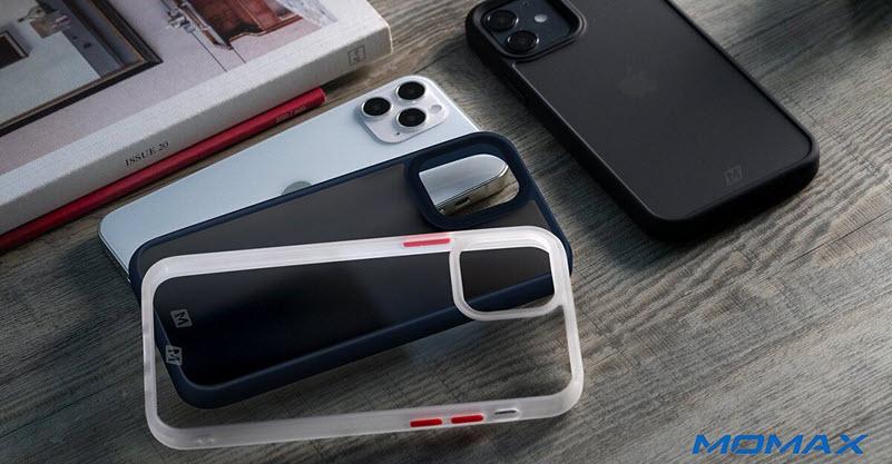 Momax Rigid Gentle Fusion Case For Iphone 12 Mini 1212pro 12 Pro Max (2)