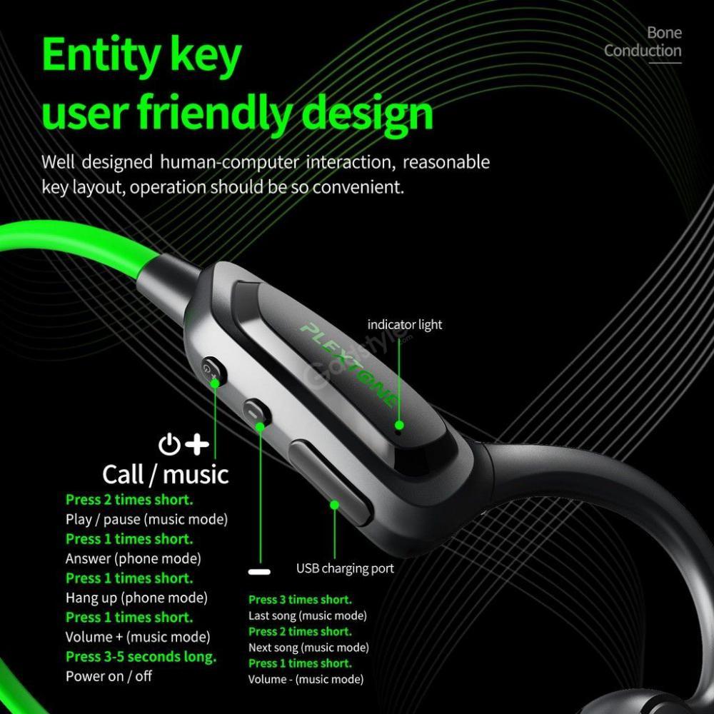 Plextone Boost1 Bone Conduction Headphones (6)